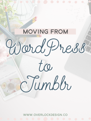 Moving from WordPress to Tumblr