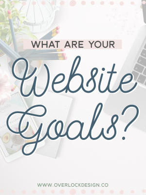 What are your website goals?