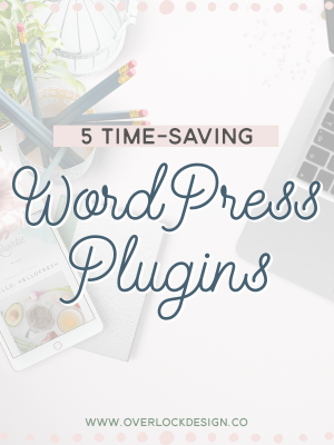 Five Time-Saving WordPress Plugins