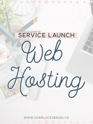 Service Launch: Web Hosting