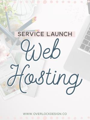 Service Launch: Web Hosting