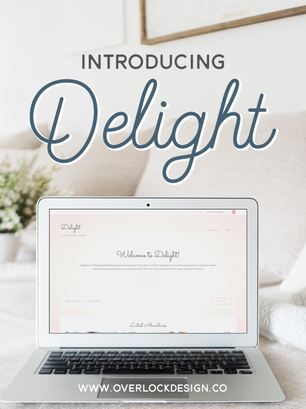 Introducing Delight – a Girly Genesis Theme