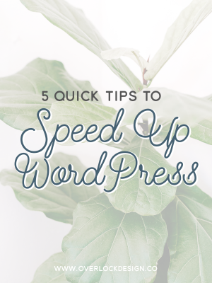 5 Quick Tips to Speed Up WordPress